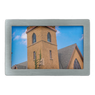 Church Rectangular Belt Buckle