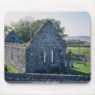 Church ruins, Islay, Scotland Mouse Pad