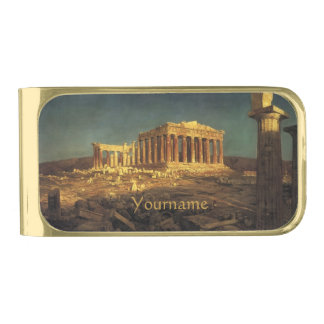 "Church's ""Parthenon"" custom money clip"