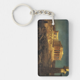 "Church's ""Parthenon"" key chain"