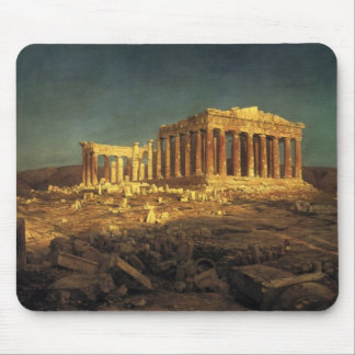 "Church's ""Parthenon"" mousepad"