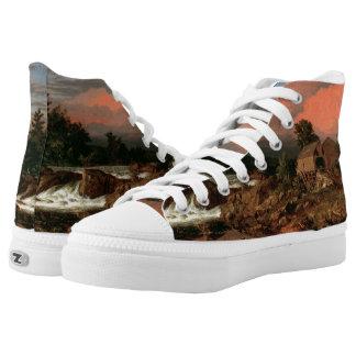 "Church's ""Rutland Falls"" art shoes"