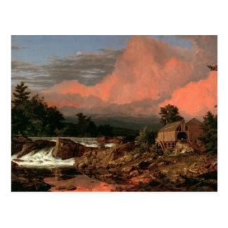 """Church's """"Rutland Falls"""" postcard"""