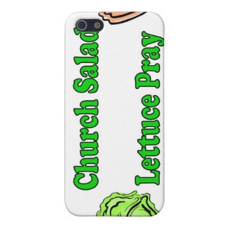 Church Salad, Lettuce Pray iPhone SE/5/5s Cover
