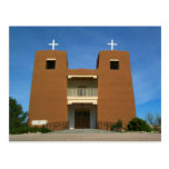 Church Santa Fe, New Mexico Postcard