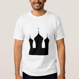 Church silhouette art T-Shirt