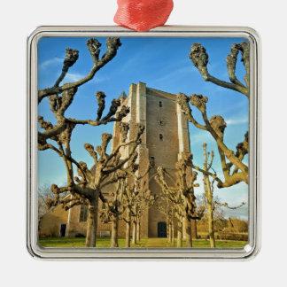 church Sint Anna ter Muiden in Sluis, Netherlands Metal Ornament