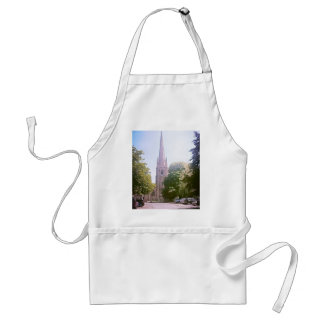 Church spire adult apron