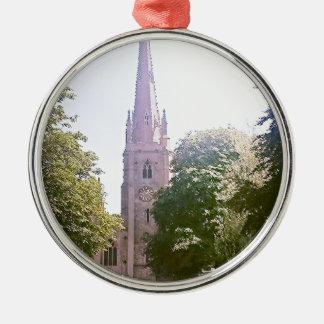 Church spire metal ornament