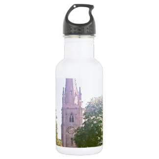 Church spire stainless steel water bottle