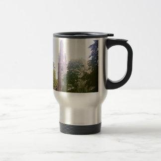 Church spire travel mug