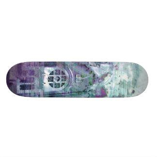 Church Splatters of Blues Skate Board Deck