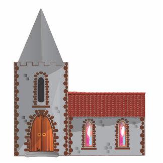 Church Standing Photo Sculpture