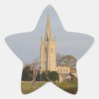 Church Star Sticker