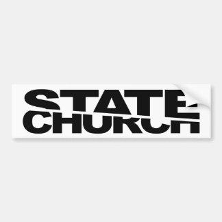 Church State Separation Bumper Sticker