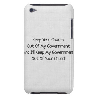 Church State Separation Barely There iPod Case