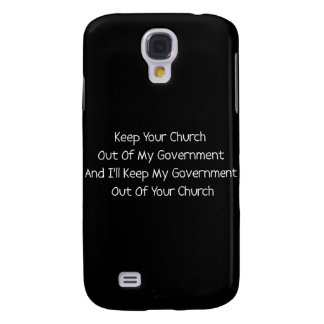 Church State Separation Samsung Galaxy S4 Cover