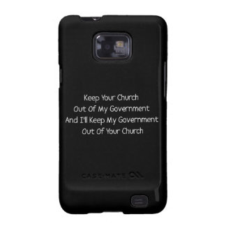 Church State Separation Samsung Galaxy S Cases