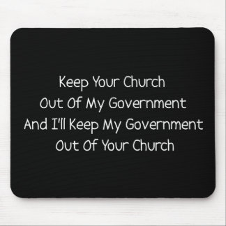 Church State Separation Mouse Pad
