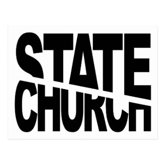 Church State Separation Post Card