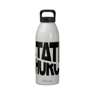 Church State Separation Drinking Bottle