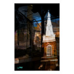 Church Stay Right Posters