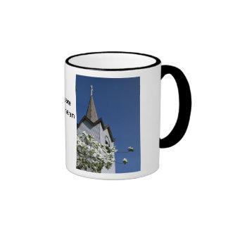 Church Steeple and Dogwood Mug