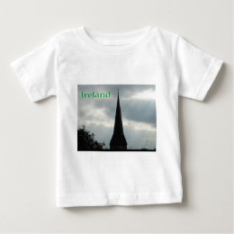 Church Steeple with Ireland Baby T-Shirt