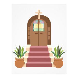 Church Steps Letterhead