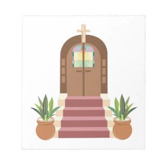 Church Steps Notepad