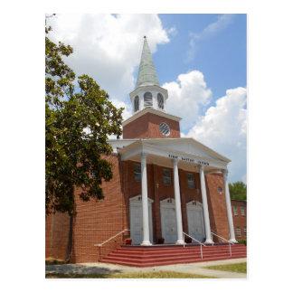 Church Street, Dade City Florida Postcard