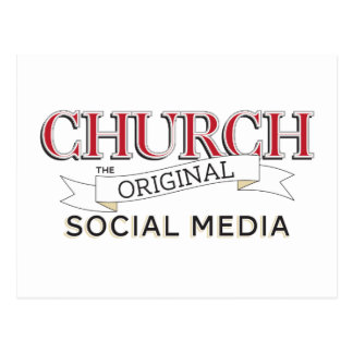 Church - The Original Social Media Postcard