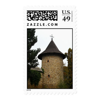 church tower postage