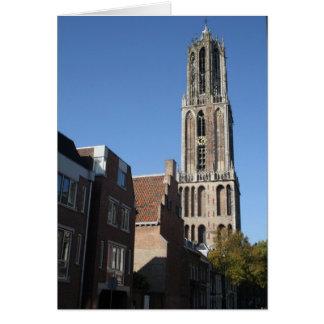 Church tower, Utrecht Card