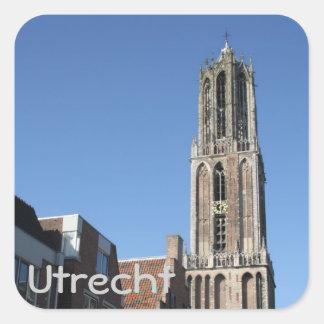 Church tower, Utrecht Square Sticker