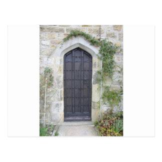 Church Village Door Postcard