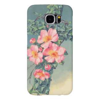 Church Vines Pink Flowers Christian Leaves Samsung Galaxy S6 Case