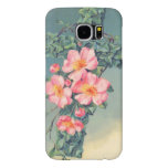 Church Vines Pink Flowers Christian Leaves Samsung Galaxy S6 Cases