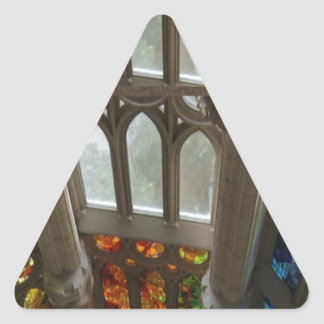 Church Wall Decorations Holy Spiritual Experience Triangle Sticker