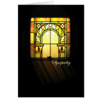CHURCH WINDOW CARD