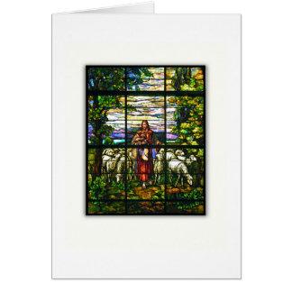CHURCH WINDOW - Good Shepherd Card