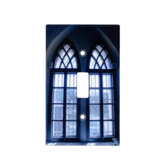 Church Window Light Switch Cover