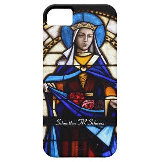 Church window Schmitten FR Switzerland iPhone SE/5/5s Case