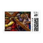 Church Windows 066 Stamp