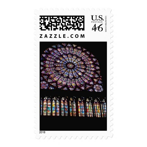 Church Windows 109 Postage Stamps