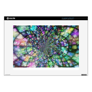 "Church Windows, by Alma Lee Skin For 15"" Laptop"