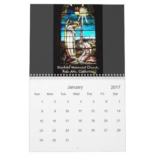 Church Windows Calendar