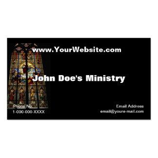 Church Windows Profile Card Business Card Templates