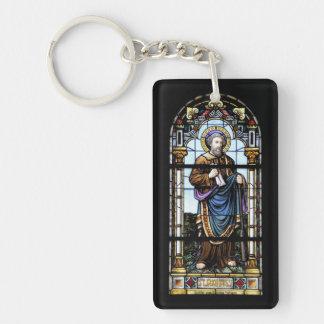 Church windows Switzerland Suisse/key supporter Keychain