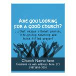 Church.Worship.Bible.Fellowship.Healing.Prayer Flyer